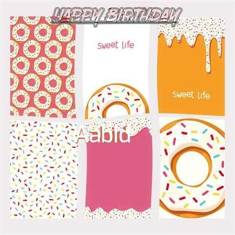 Happy Birthday Cake for Aabid
