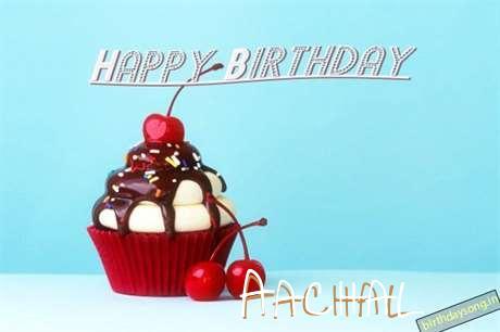 Happy Birthday Aachal Cake Image
