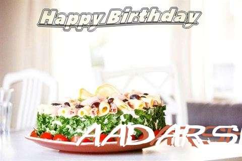 Happy Birthday to You Aadarsh