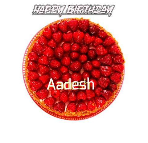 Happy Birthday to You Aadesh