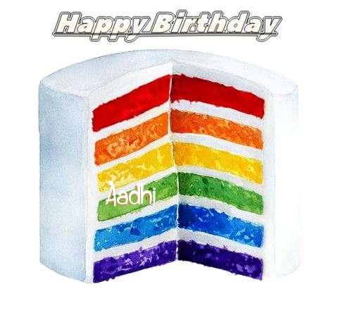 Happy Birthday Aadhi Cake Image