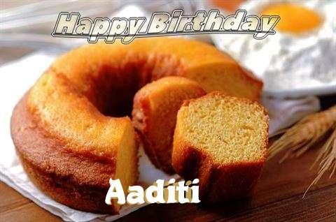Birthday Images for Aaditi