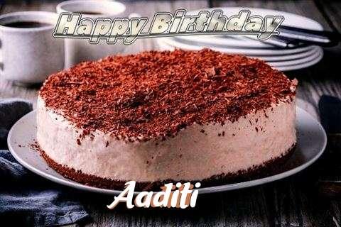 Happy Birthday Cake for Aaditi
