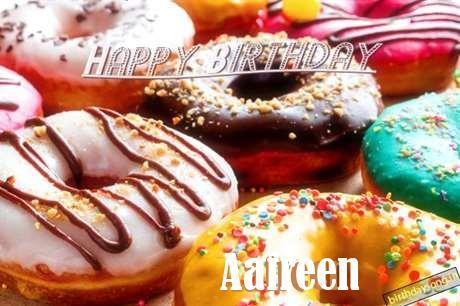 Happy Birthday Cake for Aafreen