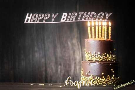 Birthday Images for Aafrin