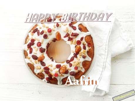 Happy Birthday Wishes for Aafrin