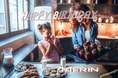 Happy Birthday to You Aafrin