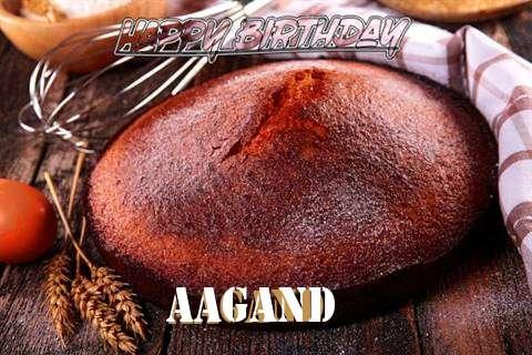 Happy Birthday Aagand Cake Image