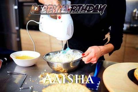 Happy Birthday Aaisha