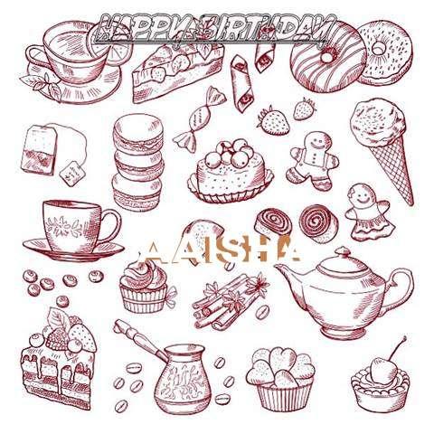 Happy Birthday Wishes for Aaisha