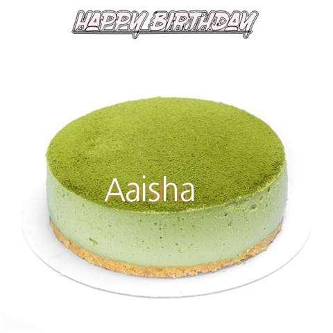 Happy Birthday Cake for Aaisha