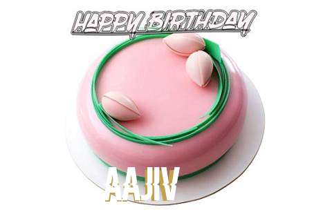 Happy Birthday Cake for Aajiv
