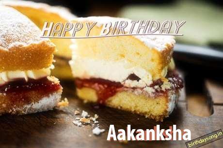 Happy Birthday Aakanksha Cake Image