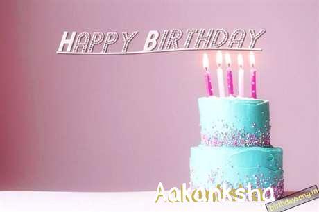 Happy Birthday Cake for Aakanksha