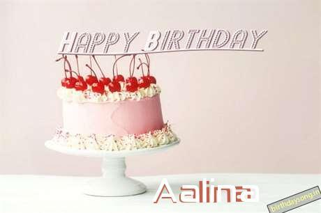 Happy Birthday to You Aalina