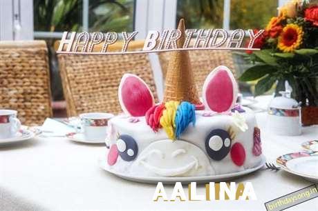 Happy Birthday Cake for Aalina