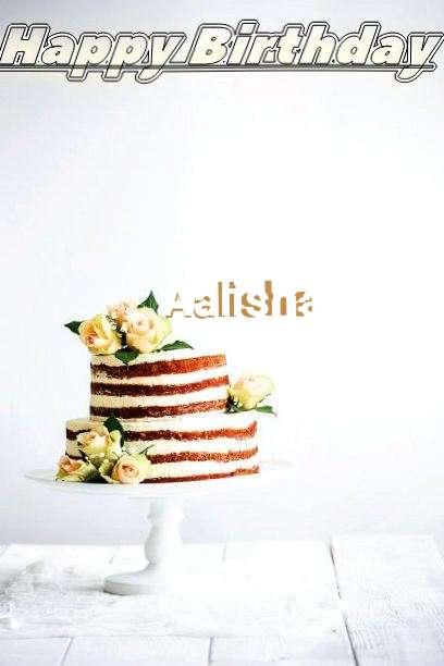 Birthday Wishes with Images of Aalisha