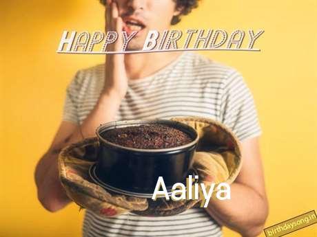 Birthday Wishes with Images of Aaliya