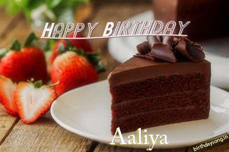 Birthday Images for Aaliya