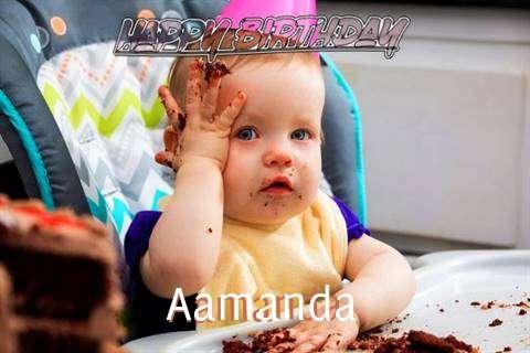 Happy Birthday Wishes for Aamanda