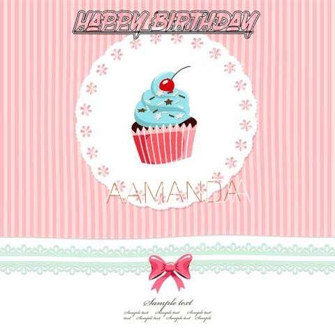 Happy Birthday to You Aamanda