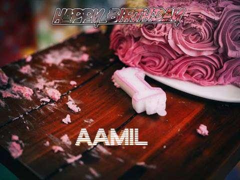 Aamil Birthday Celebration