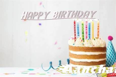 Happy Birthday Aanchal Cake Image
