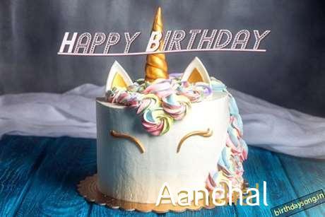 Happy Birthday Cake for Aanchal