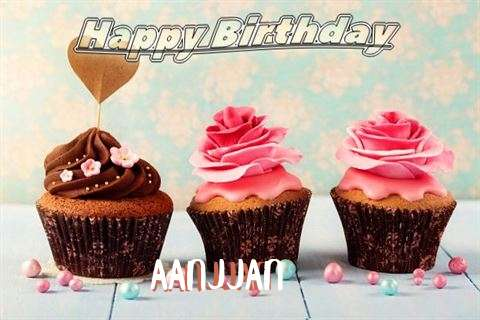 Happy Birthday Aanjjan Cake Image