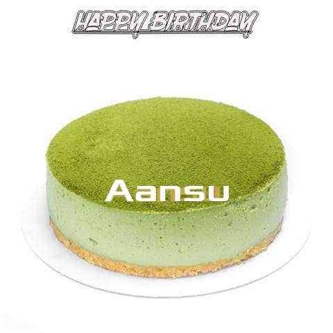 Happy Birthday Cake for Aansu