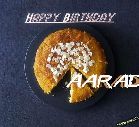 Happy Birthday Aaradhana Cake Image