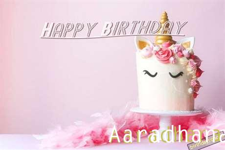 Happy Birthday Cake for Aaradhana