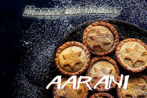 Happy Birthday Wishes for Aarani