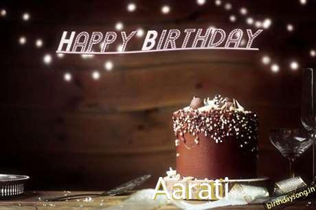 Happy Birthday Cake for Aarati
