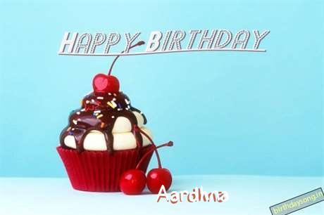 Happy Birthday Aardhna Cake Image