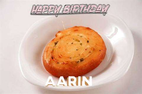 Happy Birthday Cake for Aarin