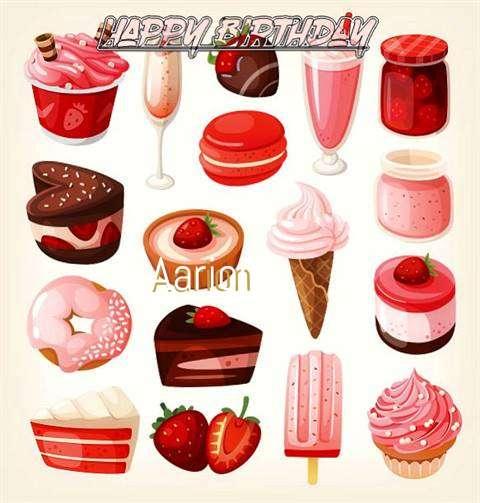 Happy Birthday Cake for Aarion