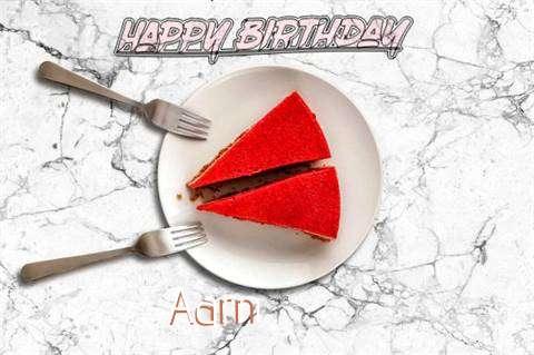 Happy Birthday Aarn