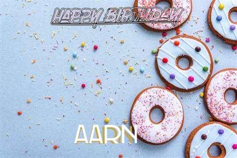 Happy Birthday Aarn Cake Image