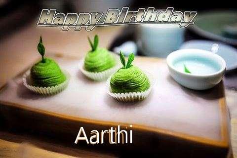 Happy Birthday Aarthi Cake Image