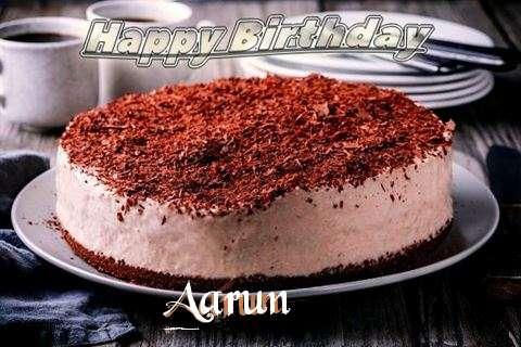 Happy Birthday Cake for Aarun