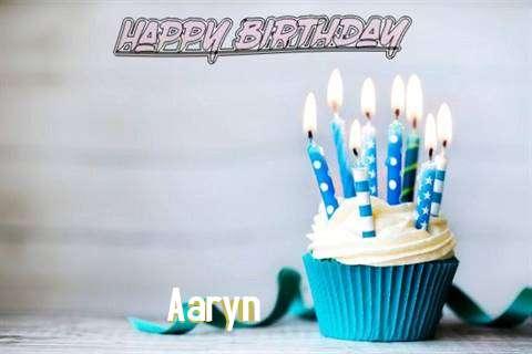 Happy Birthday Aaryn Cake Image