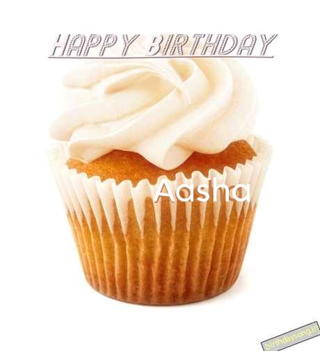 Happy Birthday Wishes for Aasha