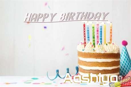 Happy Birthday Aashiya Cake Image