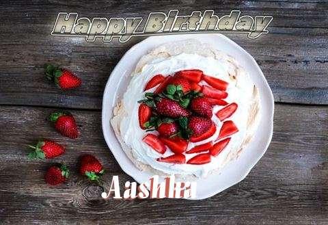 Happy Birthday Aashka Cake Image
