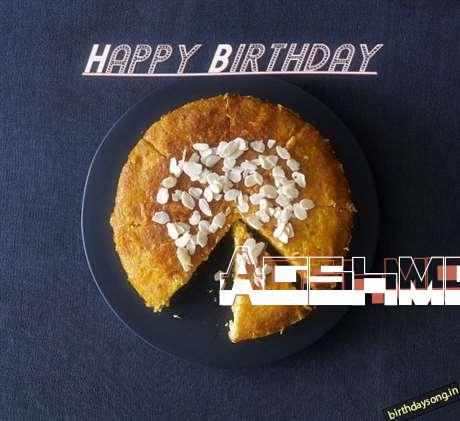 Happy Birthday Aashma Cake Image