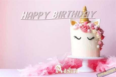 Happy Birthday Cake for Aashma