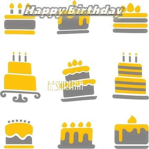 Birthday Images for Aashritha