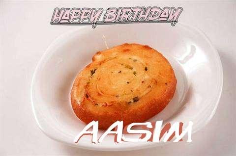 Happy Birthday Cake for Aasim