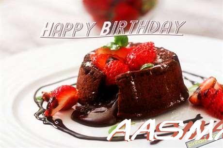 Happy Birthday Aasma